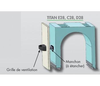 Manchon TITAN doublage 100 à 200