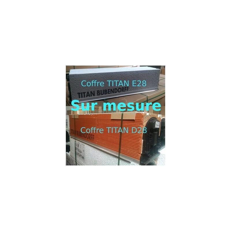 Coffre TITAN E28 D28 sur mesure