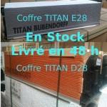 COFFRE TITAN E28 en STOCK