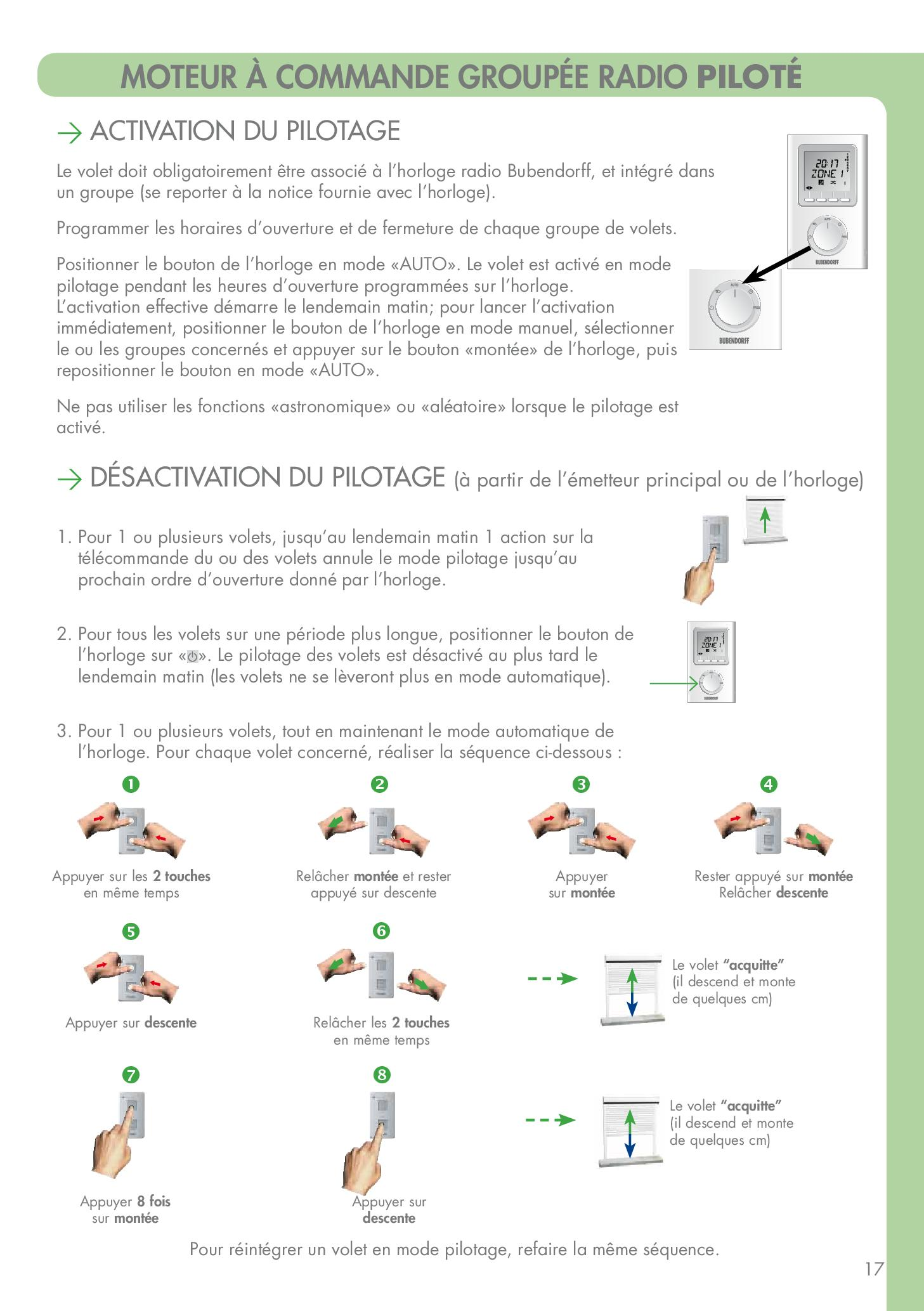 guide d'utilisation de l'option volet intelligent